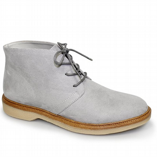 Lunar Womens Virginia Grey Desert Boots